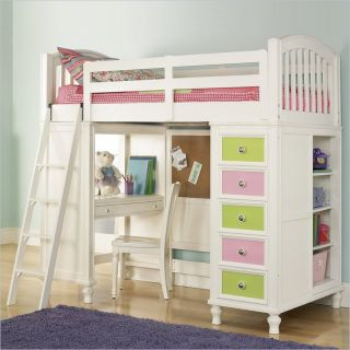 Pulaski Build A Bear Pawsitively Yours Loft bunk Bed twin size for