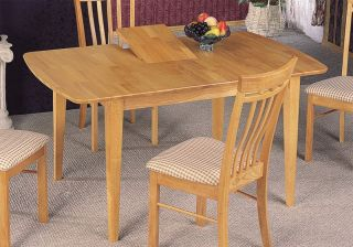 Maple Finish Butterfly Country Style Dining Table