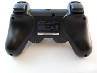 PS3 Modded Controller Drop Shot Rapid Fire Jitter Auto Aim Mod Black