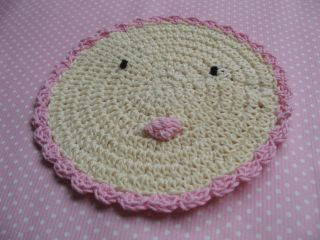 3pcs Crochet Dishcloths Pattern Book Doilies Pretty