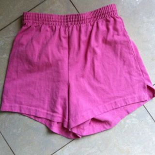 Soffe shorts Pink Cotton Size M