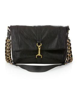 Handbags by Romeo Juliet Couture Gretchen Messenger Bag Black