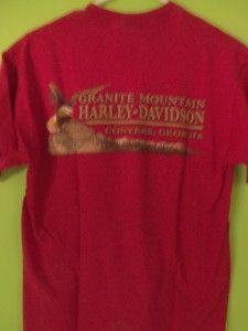 Harley Davidson Granite Mountain T Shirt M