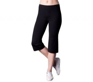 Silver Icing Claire Lightweight Workout Capri Pant   A223183