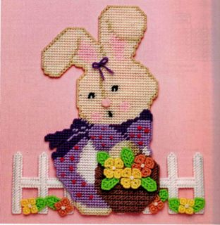 Easter Bunny Cross Wall H Plastic Canvas Pattern Book