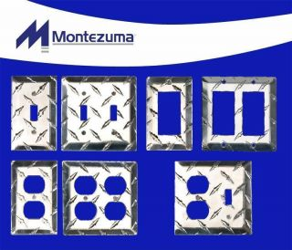 Aluminum Diamond Plate Electrical Wall Covers by Montezuma