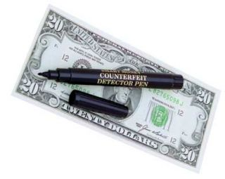 Dri Mark Counterfeit Bill Money Detector Pen 12 PK