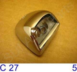 Sierra License Plate Light Chrome Crome New C27 3Z Qty 1
