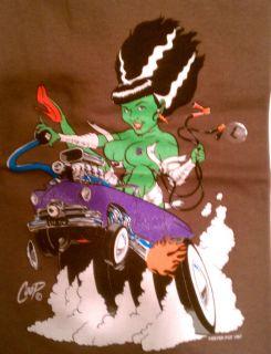 Rat Rod Coop Monster Bride T Shirts Assorted Colors