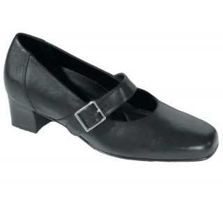 Drew Womens Andrea Leather Mary Jane Pumps w/Removable Insole