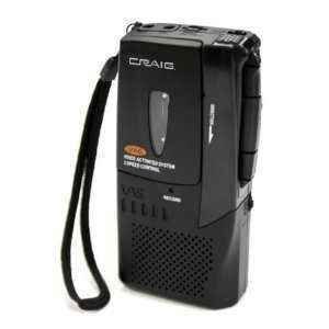 Craig Micro Cassette Recorder Voice Activated CR8003