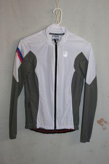Campagnolo Womens Copake Windproof Jacket Small White Gray 1701002