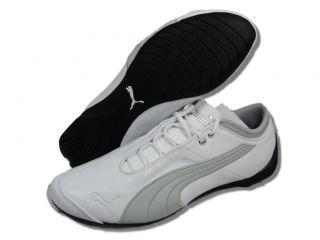 Puma Men Future Cat M1 Lux White Silver Cross Training Shoes