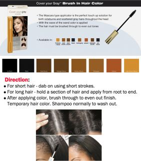 Irene Gari Cover Your Gray Instant Touch Up Brush in Hair Color 8