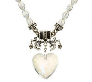 Kirks Folly All Hearts Come Home Magnetic Necklace —