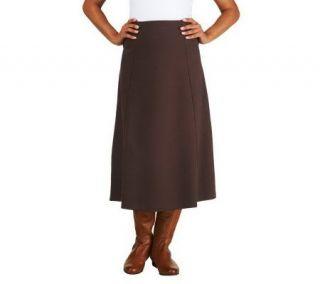 Liz Claiborne New York Four Gore Ponte Knit Skirt   A226423