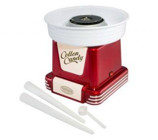 Nostalgia Electrics PCM 805 Cotton Candy Maker Retro Red   K299494