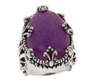 Carolyn Pollack Sterling Twilight Gemstone Ring —