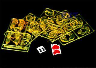 3D Yellow Teddy Bear Decorative Crystal Jigsaw Puzzle