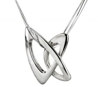 RLM Studio Sterling Gestures Pendant with 4 Strand Chain   J270157