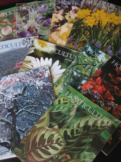 10 ISSUES 1968 HORTICULTURE Full Year minus 2/ flower garden/Landscape