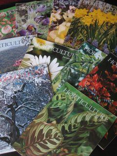10 ISSUES 1968 HORICULURE Full Year minus 2/ flower garden/Landscape