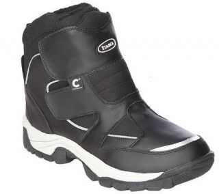 ComforTemp Mens Waterproof Hiker Boot w/ Reflective Trim —