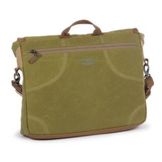 New $150 Fishpond Sporting Club 17 Messenger Bag Laptop Travel Waxed