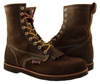 New Sebago Mens Cumberland Waxy Red Brown Boot/Shoes US 10.5 NIB