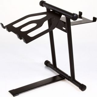 CRANE HARDWARE CRANE STANDARD LAPTOP STAND BLACK DJ CD PLAYER TRAKTOR
