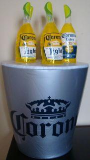 Corona Beer Inflatable Blow Up Bottles in Bucket 20