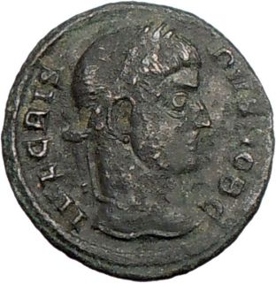 Crispus Caesar 319AD RARE Authentic Genuine Ancient Roman Coin Wreath
