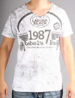 Laguna Beach Jeans Mens Corona Del Mar Graphic Print T Shirt Choose