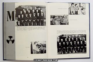 USS CURRITUCK AV 7 WESTPAC CRUISE BOOK 1962 1963
