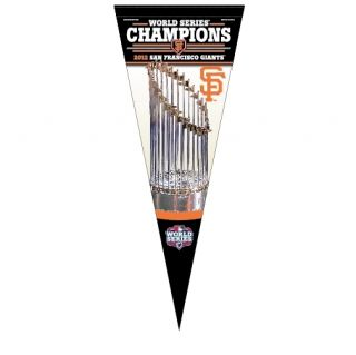 2012 World Series Champion San Francisco Giants Premium Pennant