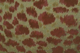 Brunschwig Fils Velvet Fabric Custom Designer Throw Pillows Red New