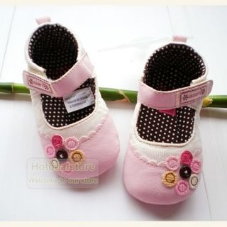Baby Girls Flowers Mary Jane Dress Shoes 3 18 Months WN47