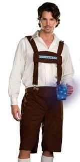 Mens German Outfit Lederhosen Oktoberfest Costume XXL