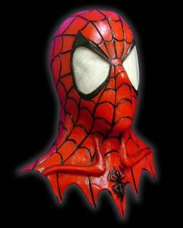 Spiderman Latex Mask Halloween Costume Prop Marvel