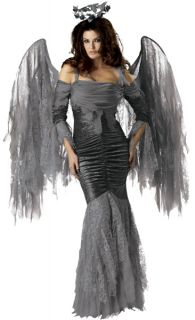 Deluxe Dark Fairy Fallen Angel Adult Halloween Costume contest winner
