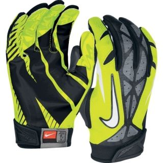 NIKE FOOTBALL GLOVES VAPOR JET 2 0 OREGON VOLT NFL ADULT MEDIUM