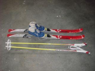 kids cross country ski set Fischer 110 cm Skis Fischer Bindings Boots