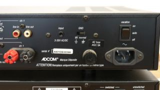 Adcom GFA 5002 High Current Custom Installation Amplifiers