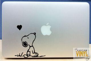 snoopy vinyl macbook laptop decal sticker graphic