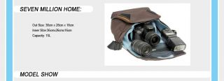brand new with tag crumpler 7 million dollar home digital camera bag
