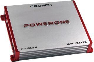 New Crunch P116504 800W 4 CH Car Audio Amplifier Amp 4 Channel P1 1650