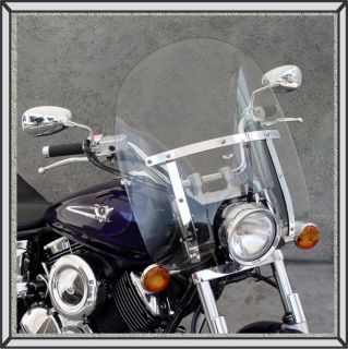 2006 Yamaha XVS1100 Custom National Cycle Dakota Tinted Windshield