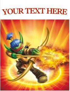 Fire Skylanders Flameslinger Personalized Shirts