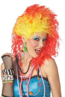 Cyndi Lauper 80s Rock Club Kid Party Girls Cindy Wig She Bop Goonies