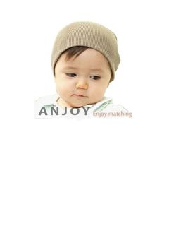 New Cute Children Cotton Knitted Toddler Baby Hat Beanie 6 Colors
